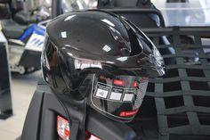 Открытый шлем v520. Open helmet v520 - black