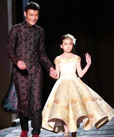 9-Year-Old Modeled In Paris Couture Show, Commenters Freak  http://www.refinery29.com/2015/02/81867/xiu-qiu-chinese-9-year-old-model