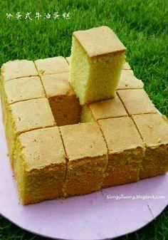 雨之家: ♡分蛋式牛油蛋糕♡