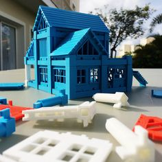 Printable Architectural Kit Series 2 #3Dprint #3Dprinting [more pics on Cults website]