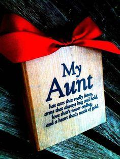 My aunt