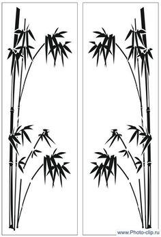 Картинки по запросу узоры с пандой и бамбуком