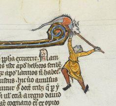 When Dragons eat the marginalia... Lausanne, Bibliothèque U 964 (@psquilts2) | Twitter