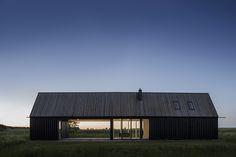 open barn plan + meadow