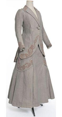 Cotton Suit, ca. 1907