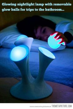 Glowing nightlight lamp…