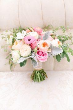 Whimsical pastel garden wedding inspiration