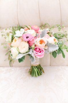 Whimsical pastel garden wedding inspiration