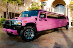 pink hummer limo ~ awesome!!!