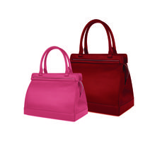 """""""The Kennedy"""" 32cm Bag in Limited Edition Scarlet... the ultimate gift for someone special this Valentines Day. Also coming soon is """"The Kennedy """" 26cm in Blossom Pink."""
