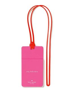who me? id holder - Kate Spade New York