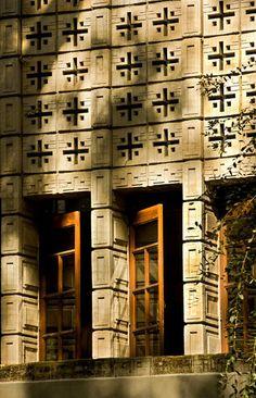 Millard House, Pasadena, 1923, Frank Lloyd Wright