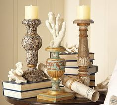 Pottery Barn Decorating | pottery barn candles