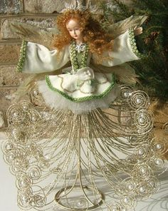 bfb9e66bed2a2 New Katherine s Collection Wayne Kleski Magnolia Angel Christmas Tree Topper