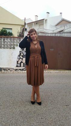 Mary's Big Closet: Camel Dress