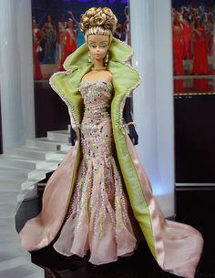 Silkstone Barbie, gorgeous gown