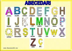 abecedari en català d'animals