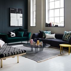 See the best living room ideas on HOUSE - design, food and travel by House & Garden. Gabby Deeming explored new frontiers in upholstery in our January 2015 decoration story.