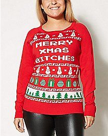 Merry Go Fuck Yourself Christmas Sweater | The Best Ugly Christmas ...