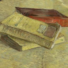 "mythologyofblue: ""Vincent van Gogh, Three Novels (detail) (via lonequixote) + """