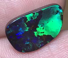 6.29cts Boulder Opal Stone AD165 boulder opal, gem boulder opal , australian opal , opals
