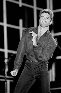George Michael man with golden heart
