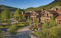 The Ranch at Rock Creek features rooms and suites built from reclaimed timber and luxury c...