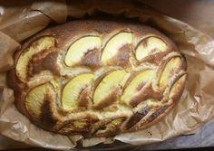 Bögrés, őszibarackos, kefires süti Apple Pie, Baked Potato, Tart, Potatoes, Bread, Cookies, Baking, Ethnic Recipes, Food