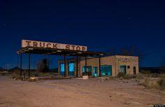 A Nighttime Road Trip Through Texas Prettiest Ghost Towns