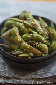 Living Lou | Healthy Edamame Snack #healthy #snack