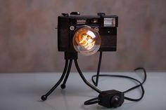 Photo Camera Lamp / Retro Light / Nightlight Lamp от LUMENworkshop