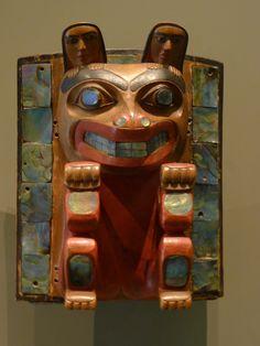 Edenshaw, E. A. Bear Headdress Frontlet. Nelson-Atkins Museum.