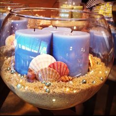Centerpieces made under $5 by Sheena