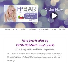 Creating a healthy, convenient lifestyle that supports your active life! www.EnjoyH2.com