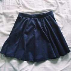 Cotton On | navy blue skater skirt Cotton On navy blue skater skirt. Great condition - only worn 1-2 times. No signs of wear. Cotton On Skirts Circle & Skater