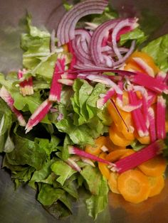 Eat Local: Shrimp and Cabbage Fritters + Winter Salad - Seacoast Eat Local Radish Recipes, Shrimp Recipes, Radish Greens, Watermelon Radish, Winter Salad, Fritters, Vinaigrette, Farmers Market, Cabbage