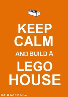 """Keep calm and build a LEGO house - If you ♥ LEGO, come have a look at LEGO LOVE board http://pinterest.com/almaisoncloud9/lego-love/ - I am the French-Israeli designer of """"Mademoiselle Alma"""". Inspired by my daughter, ALMA, I create Jewelry made from LEGO bricks, SWAROVSKI crystals and of course, a great amount of imagination. *** http://www.facebook.com/MademoiselleAlma Hope you LIKE my Facebook page-shop ♥ & http://www.etsy.com/shop/MademoiselleAlma #LEGO"""