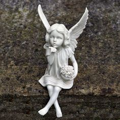 1000 Images About Garden Ornaments Angels Fairies
