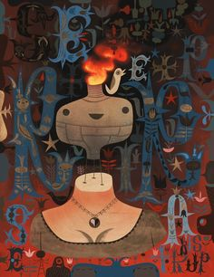 Tim Biskup - Lowbrow Art