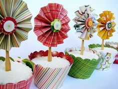Cupcake Topper ideas