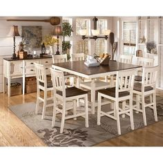 Whitesburg Counter Height Dinette