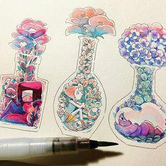 Flores cristal gems (flowers cristal gems)