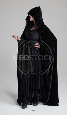 Female Curly Haired Warrior Priestess Stock Photography