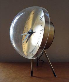 Original George Nelson Tripod Bubble Clock