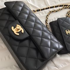 Chanel mini flap.
