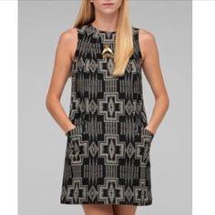 Euc Pendleton Collection Shift Dress Xs