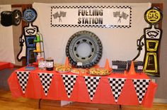 Pinewood Derby Refreshments