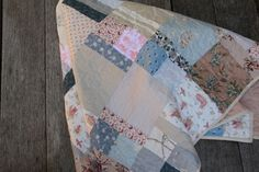 Another beautiful soft colour quilt by maggie and sparrow