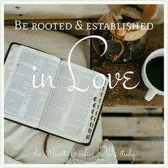 """Be rooted and established in love."" Ephesians 3:17 . she Ministries online Bible study begins on September 19th. Join us as we learn how to claim our inheritance from the Lord. . Live Abundantly study books are available NOW! (shop now button at top of page ) . We can't wait to see what the Lord will do!"
