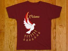 Camiseta elaborada para a Crisma dos catequizandos da Paróquia Cristo Rei